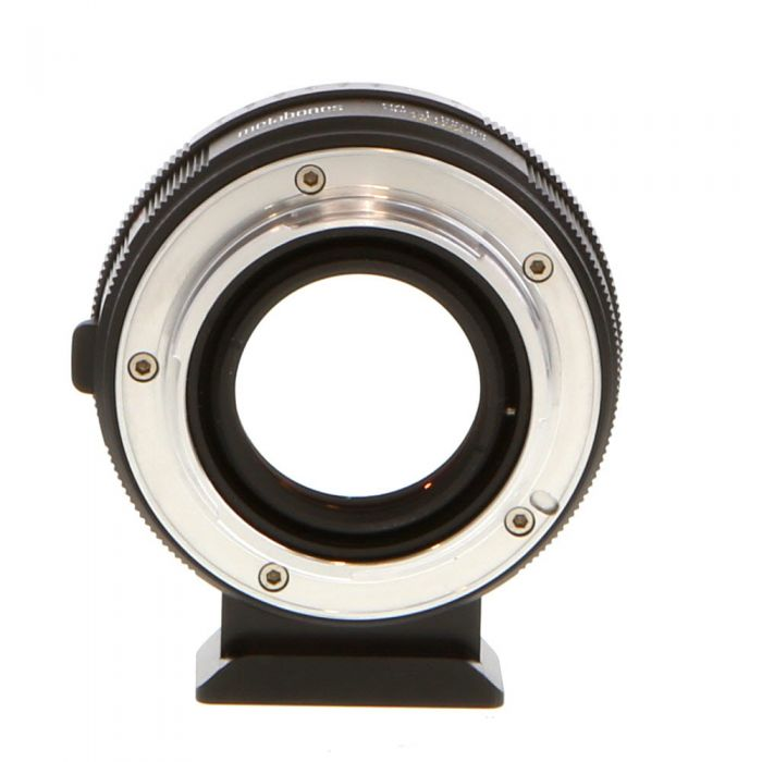Metabones ULTRA Speed Booster Adapter for Nikon F-Mount, G Type Lens to Sony E-Mount (MB_SPNFG-E-BM2) with Aperture Ring, Tripod Foot