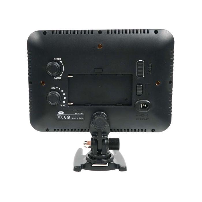 Savage LED204 Luminous Pro On-Camera Bi-Color LED Video Light 3200K - 5500K