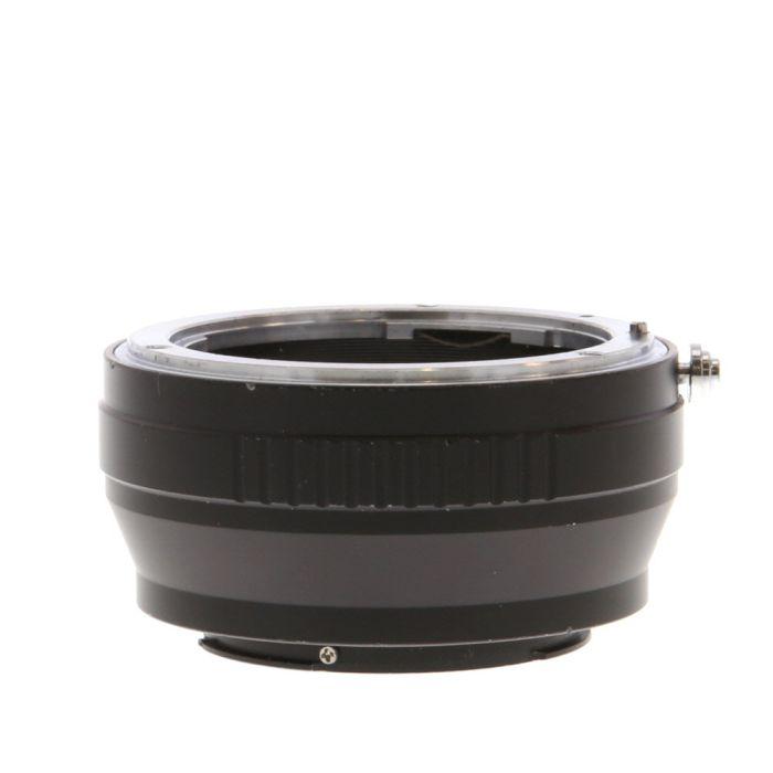 Fotasy NK-FX Adapter Nikon F Lens To Fujifilm X-Mount Mirrorless