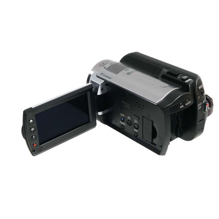 Sony HDR-XR100 80GB HD Handycam NTSC Digital Video Camera, Silver {4MP}