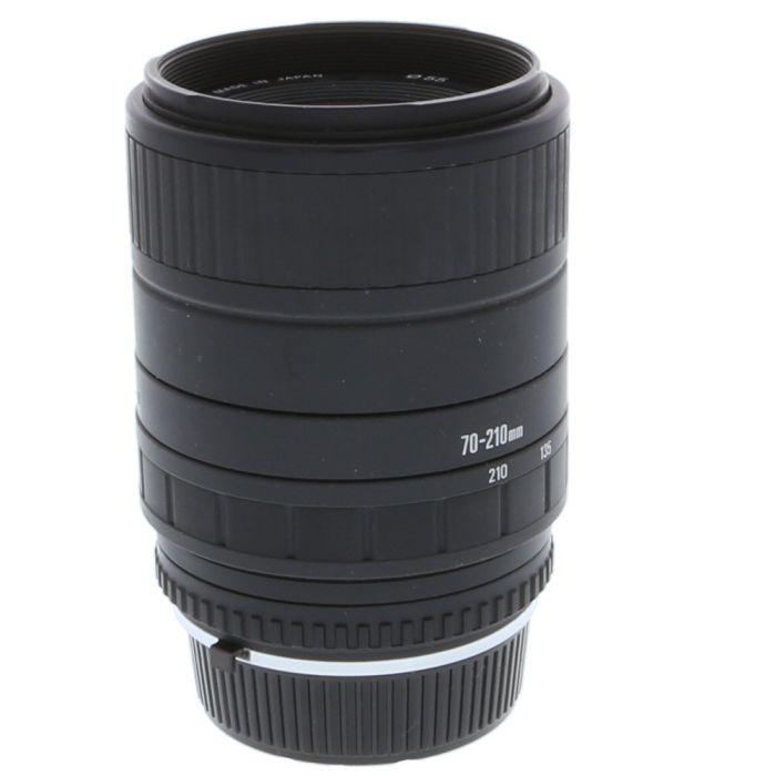 Sigma 70-210mm F/4-5.6 UC-II MM C/Y Mount Lens {55}