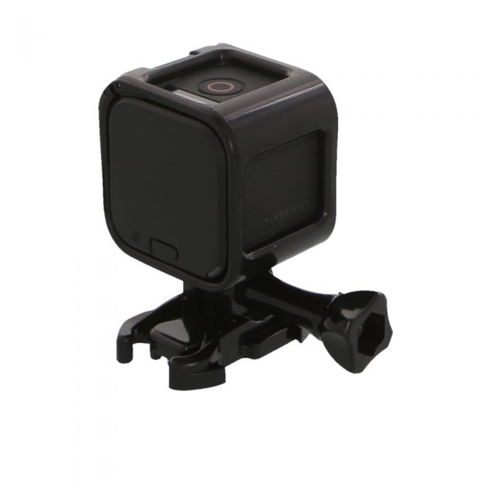 GoPro Hero 4 Black Session with Standard Frame (Waterproof to 33\') Action Camera with Quick Release Buckle {8 M/P}