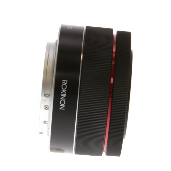 Rokinon 35mm f/2.8 FE Autofocus Lens for Sony E-Mount, Black {40.5/49}