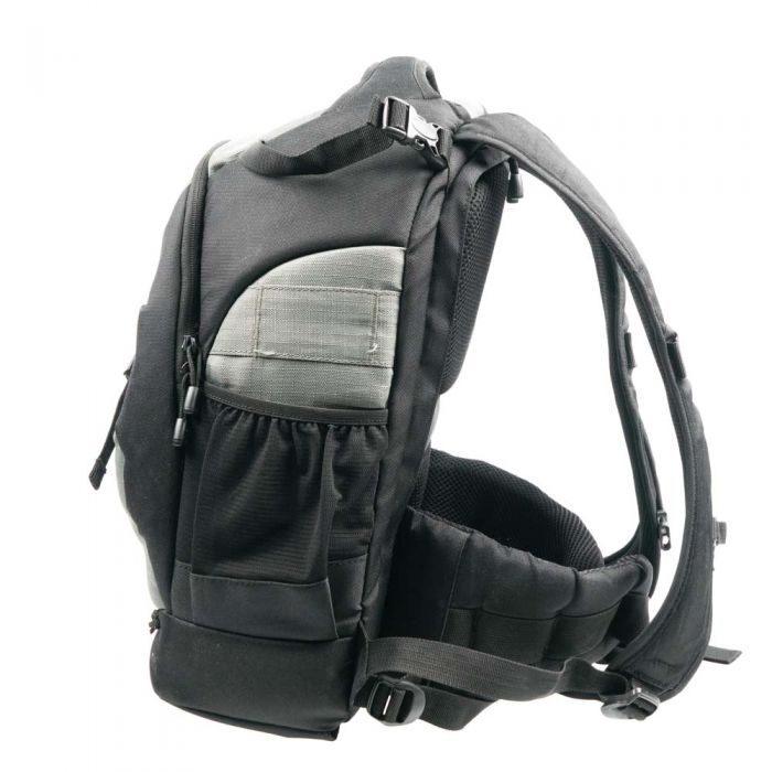 Lowepro Flipside 400 AW Camera Backpack, Pine Green/Black, 11.9x10x18.1
