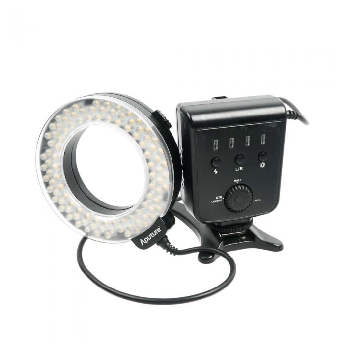 Aputure AHL-HN100 Amaran Halo LED Ring Flash for Nikon Digital {GN49}