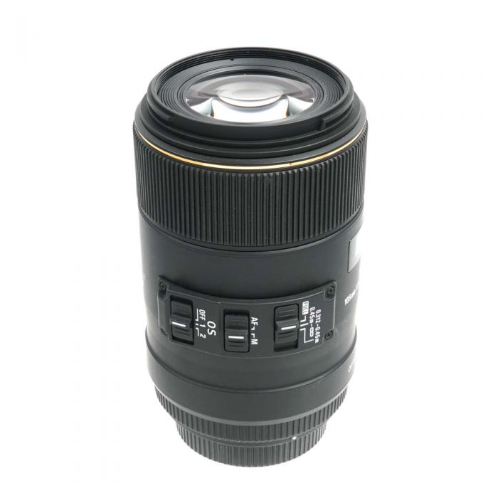 Sigma 105mm f/2.8 EX DG HSM OS Macro (1:1) Lens, Dedicated Only for Sigma SA Mount (please note: not Sony Alpha Mount){62}