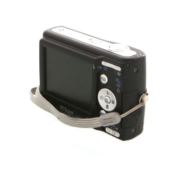 Nikon Coolpix L11 Digital Camera, Black {6.0MP}