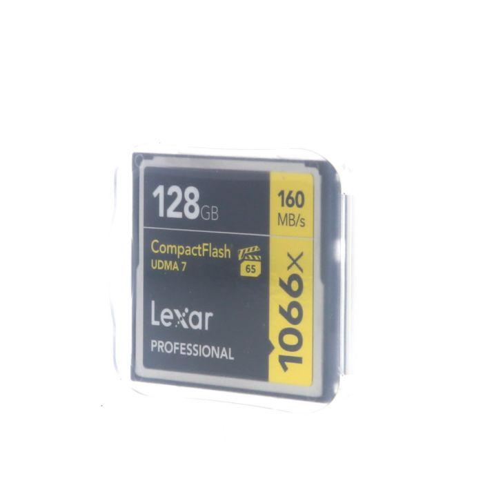 Lexar Pro 128GB 1066X UDMA 7 Compact Flash [CF] Memory Card