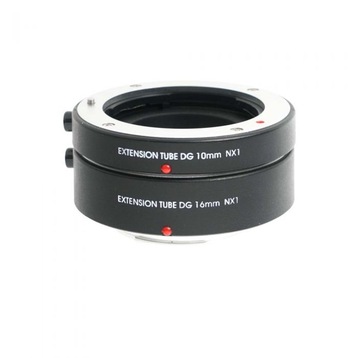 Miscellaneous Brand DG Extension Tube Set, 10mm & 16mm, For Samsung NX Mount
