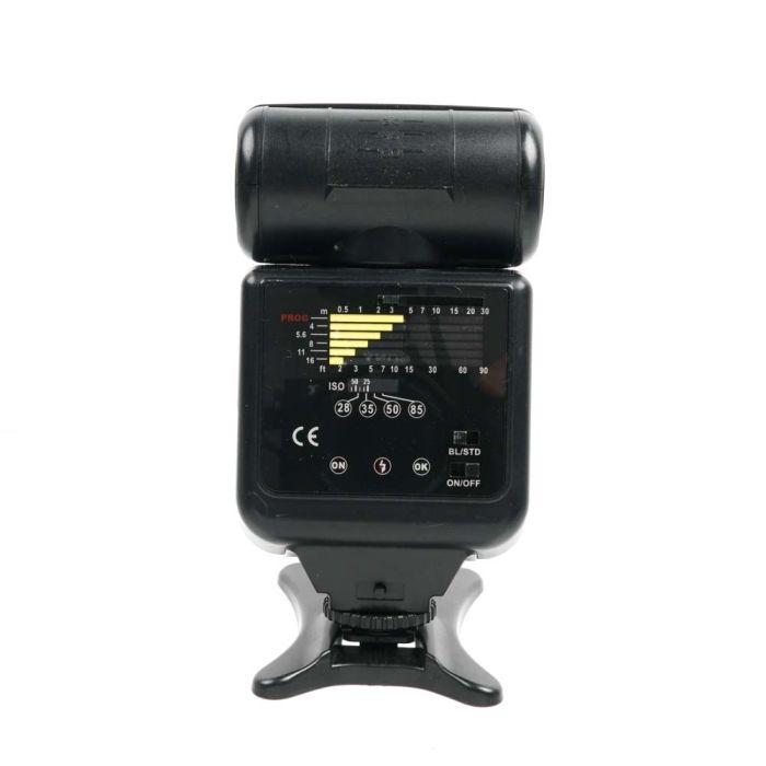 Bower SFD35N I-TTL Flash for Nikon Digital [GN112] {Bounce, Swivel, Zoom}