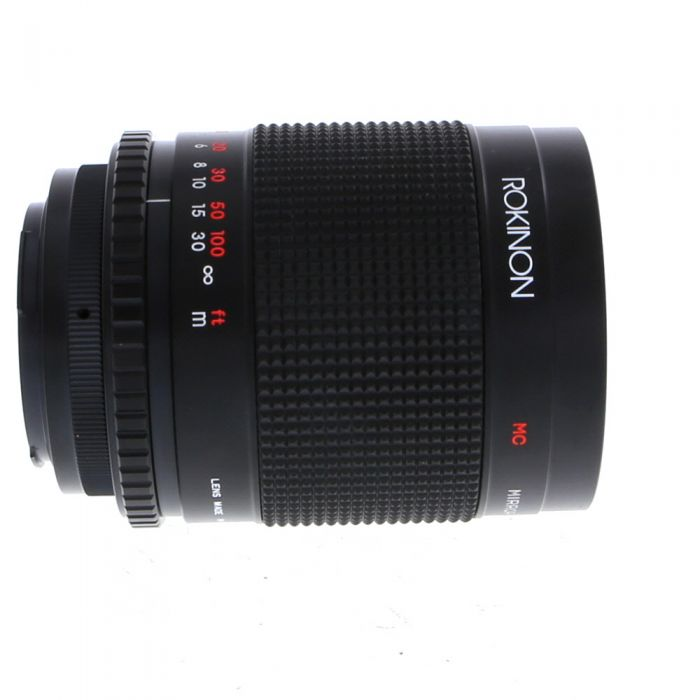 Rokinon 500mm f/8 Mirror Macro Manual Focus Lens for Canon EF-Mount {72} with T-Mount Adapter