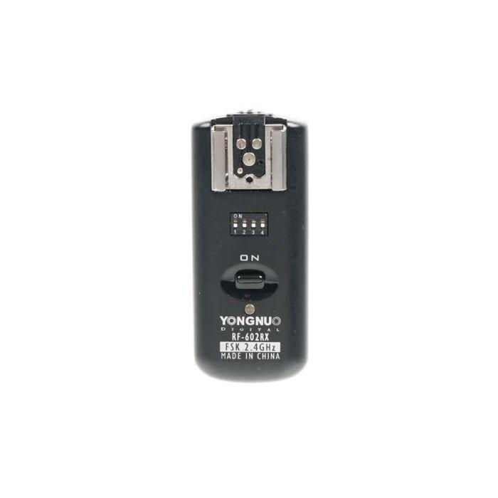 Yongnuo RF-602N Wireless Flash Trigger Set for Nikon Digital (RF-600TX Transmitter, RF-602RX Receiver)