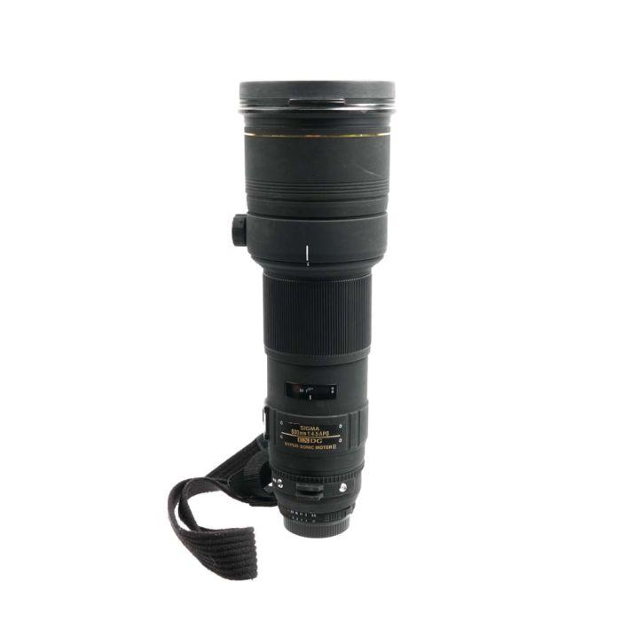 Sigma 500mm F/4.5 APO D EX DG HSM Autofocus Lens For Nikon {46}
