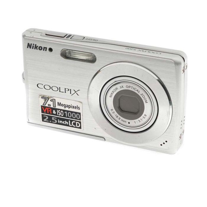 Nikon Coolpix S200 Digital Camera Silver {7.1MP}