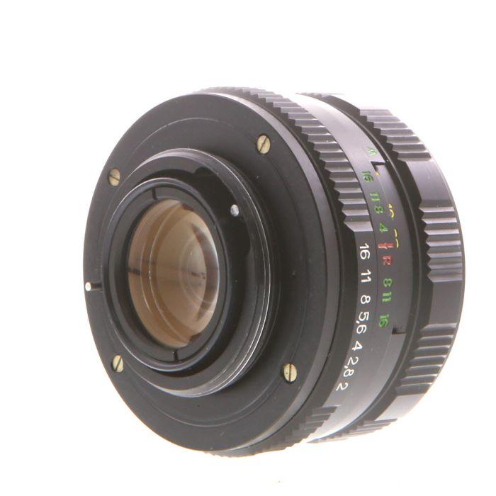 Zenit 58mm f/2 Helios 44M-5 Manual Focus Lens for M42 Screw Mount, Black{52}