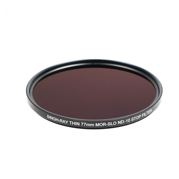 Singh-Ray 77mm Mor-Slo ND-10 Stop Neutral Density Filter