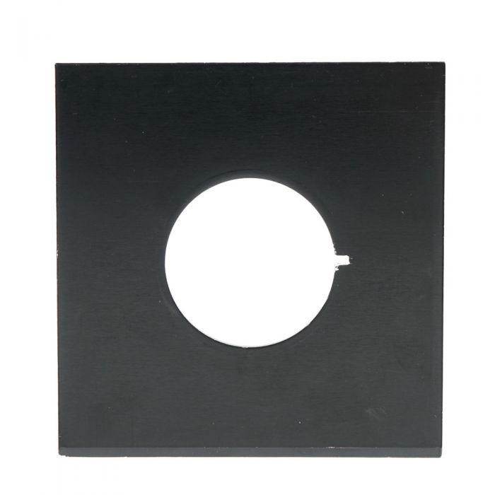 Zone VI 4X5 (3 7/8X3 3/4 Metal) 42 Hole Notched Lens Board