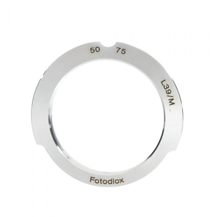 Fotodiox Lens Mount Adapter Leica Screw Mount Lenses To Leica M Cameras (50-75mm)