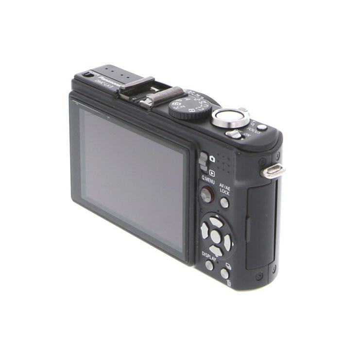 Panasonic Lumix DMC-LX3 Digital Camera, Black, Menu Defaults to Japanese {10.1 M/P}