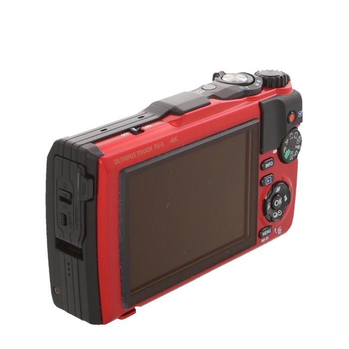Olympus Stylus Tough TG-5 Digital Camera, Red {16 M/P}