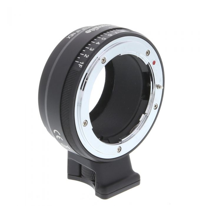 Commlite Adapter NF-NEX with Tripod Mount for Nikon F/G Lens to Sony E-Mount