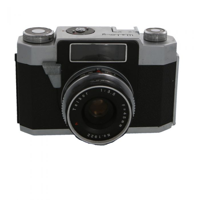 Welmy Wide with 45mm F/3.5 Taikor 35mm Camera
