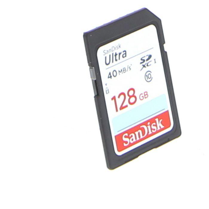 Sandisk 128GB 40 MB/s Class 10 Ultra SDXC I Memory Card