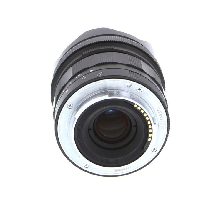 Voigtlander 12mm f/5.6 III Ultra Wide-Heliar Aspherical Manual Lens for Sony E-Mount, Black
