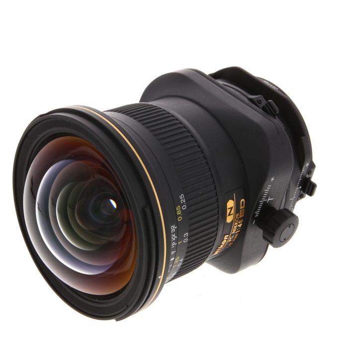 Nikon Nikkor 19mm F/4 PC-E Micro ED Manual Focus Tilt Shift Lens