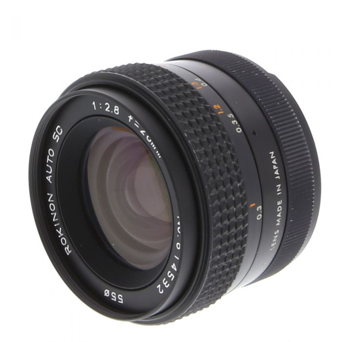 Rokinon 28mm F/2.8 SC Manual Focus Lens for Fujica X Series {55}