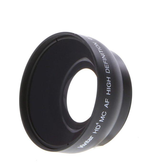 Vivitar 0.43x HD4 MC Wide Angle Converter with Macro for 52mm