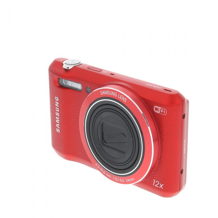 Samsung WB35F Digital Camera, Red {16.2 M/P}