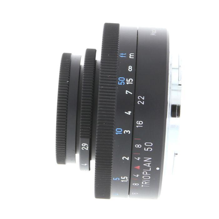 Meyer-Optik Gorlitz 50mm F/2.9 Trioplan Black Manual Focus, Manual Aperture Lens For Nikon {35.5}