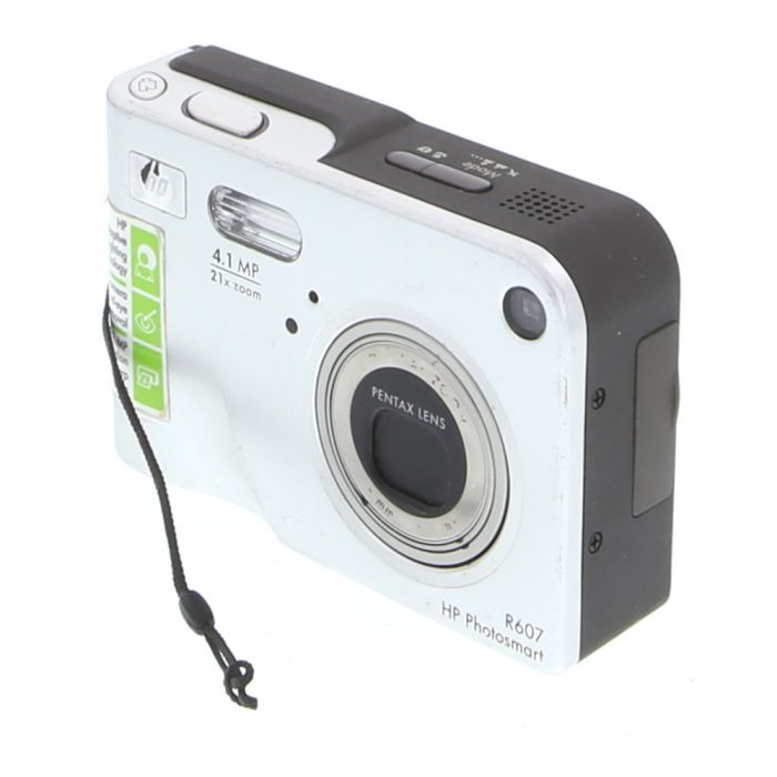 Hewlett Packard Photosmart R607 Silver Digital Camera {4.1MP}