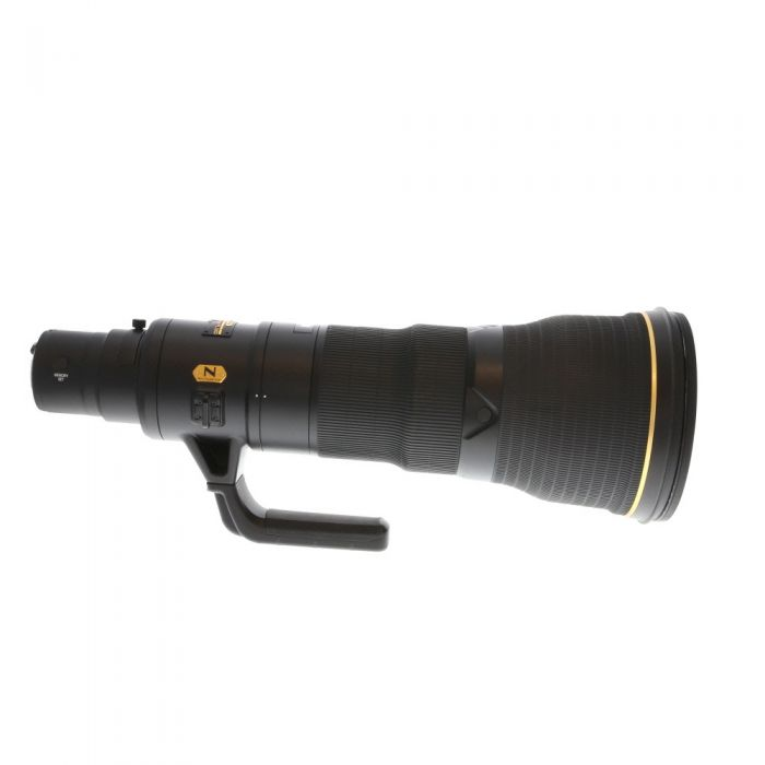 Nikon Nikkor 800mm F/5.6 E FL ED AF-S VR AF Lens {52mm Drop-In} With TC800-1.25E ED Teleconverter