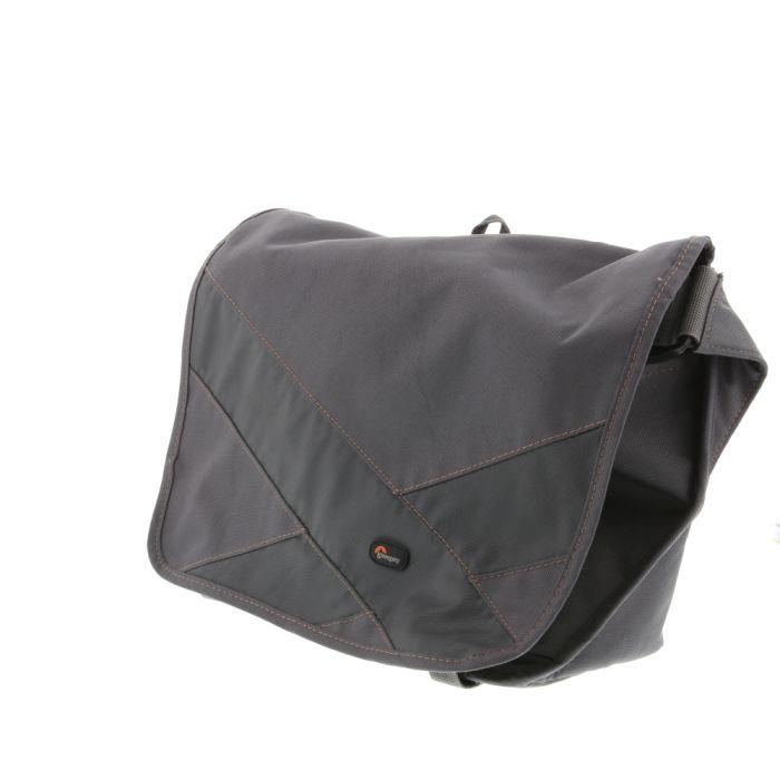 Lowepro Exchange Messenger Bag, Gray, 13x5.7x9.4\