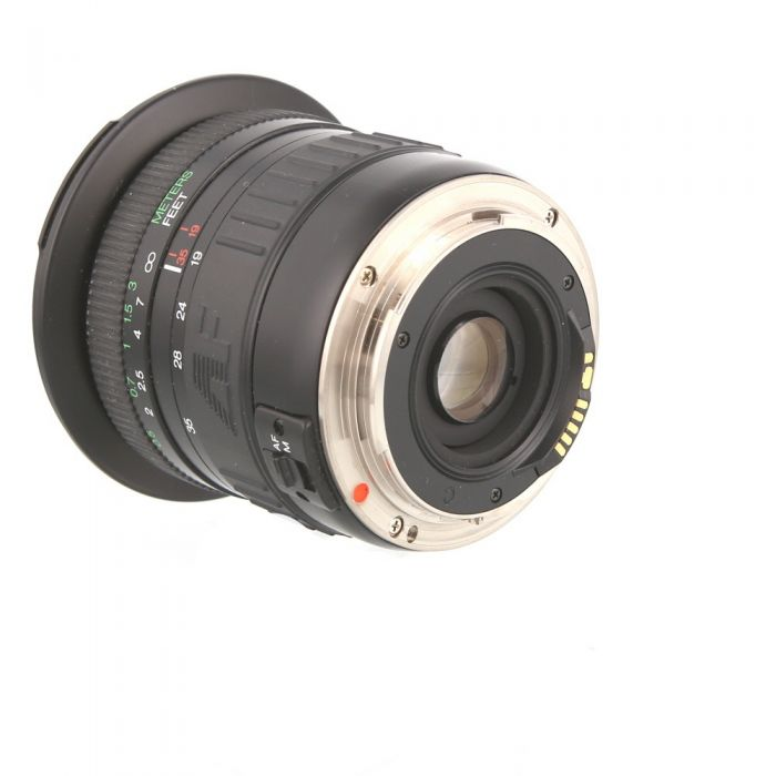 Phoenix 19-35mm F/3.5-4.5 2-Touch Manual Focus Lens For Canon EF Mount {77}
