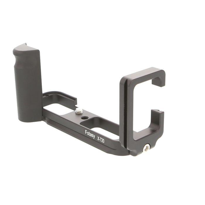 Fotasy X-T20 L-Bracket (Base, L-Plate, Metal Grip) for Fujifilm X-T20