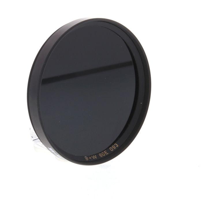 B+W 60mm Infrared Pass Camera Lens Filter Black 093