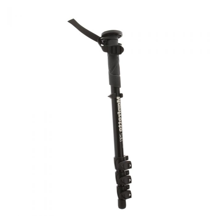 Manfrotto MM290C4US Carbon Fiber Monopod, Black, 4-Section, 19.5-59.5