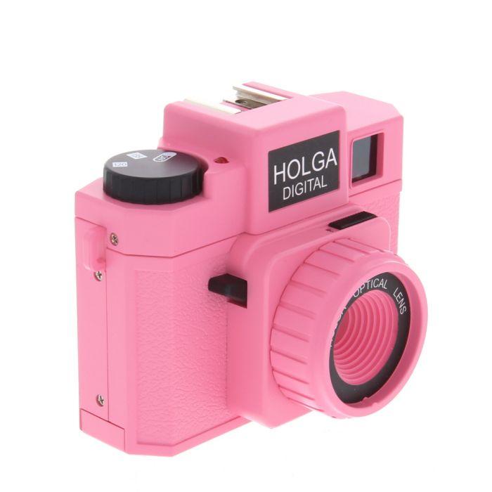 Holga Digital Camera, Perky Pink {8 M/P} (Requires 2/AA)