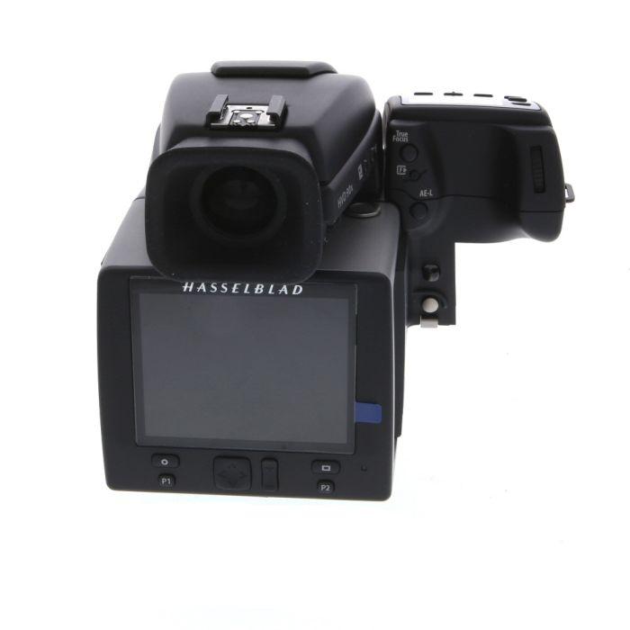 Hasselblad H5D-50 Medium Format DSLR Camera Body {50MP} with Battery Grip (7.2V/2900mAh), HVD 90X Viewfinder (Black)