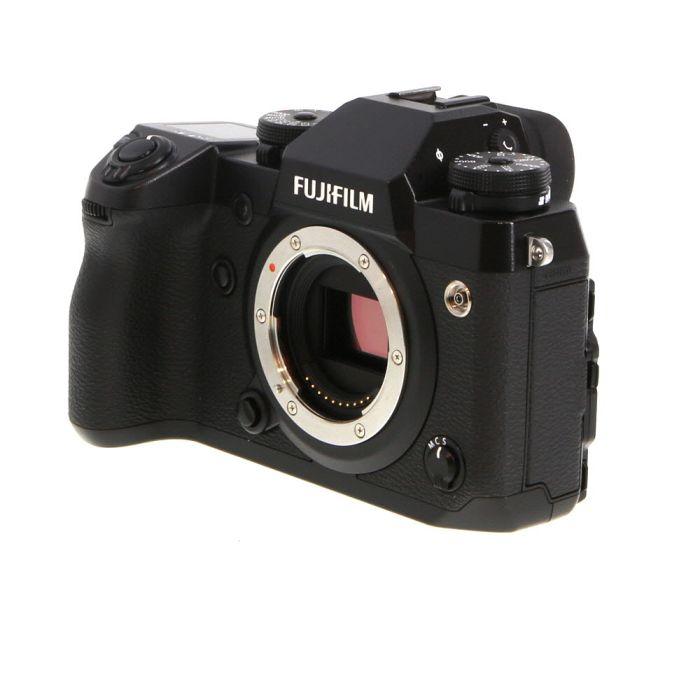 Fujifilm X-H1 Mirrorless Digital Camera Body, Black {24.3MP} With EF-X8 Flash