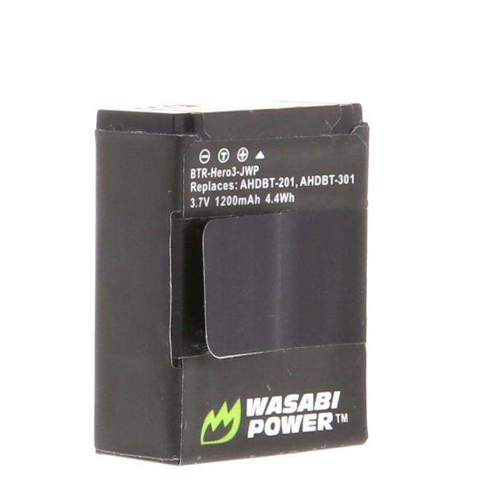 Wasabi 3.7V 1200 MAH Li Ion Battery (for GoPro HERO3, 3+)