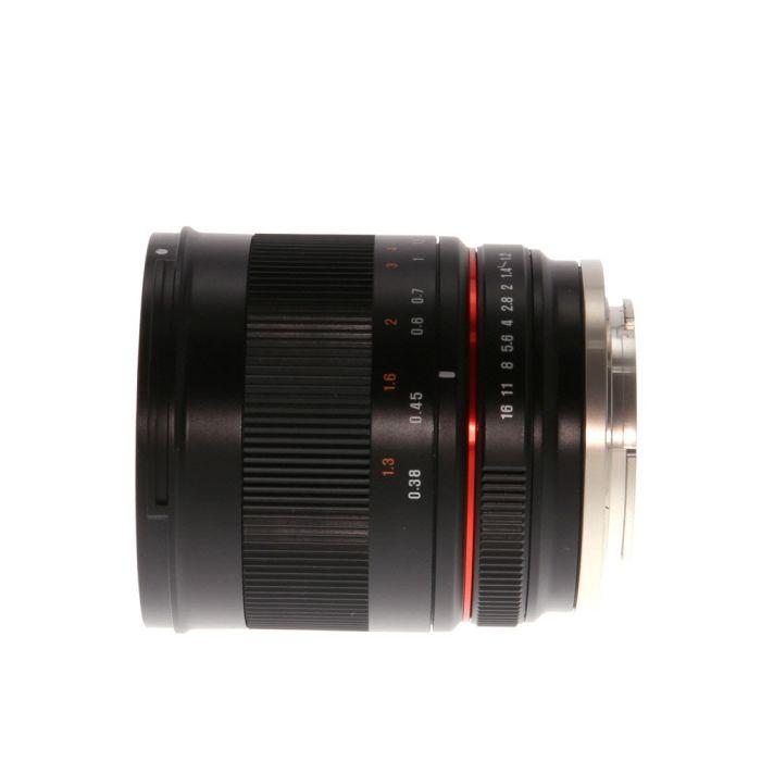 Rokinon 35mm f/1.2 AS CS ED UMC Manual Lens for APS-C Sony E-Mount, Black {62}