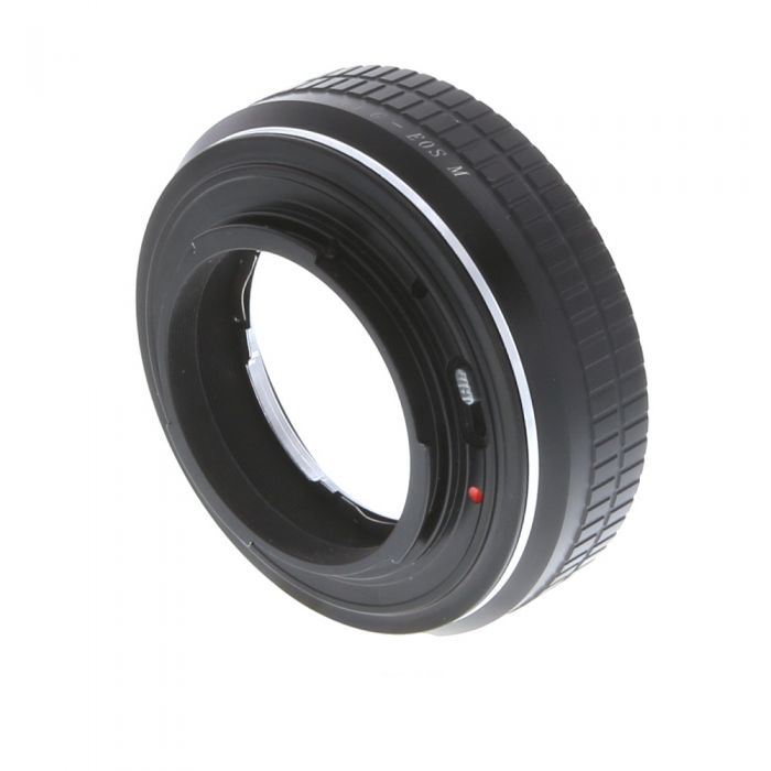 Fotodiox Pro Contax G - EOS M Adapter for Contax G Lens to Canon EF-M Mount