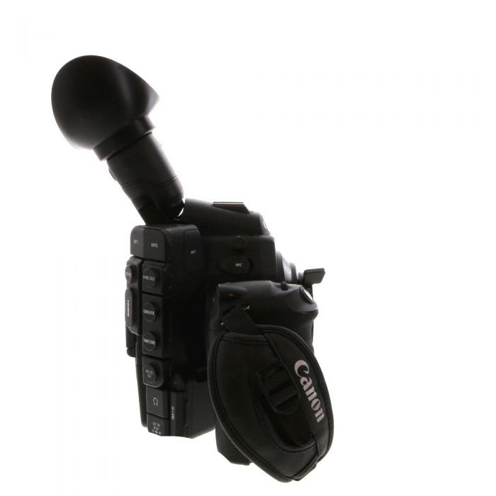 Canon Cinema EOS C300 PL Camcorder Body (PL Lens Mount) with Grip Unit, Monitor Unit, Top Handle, TB-1 Tripod Adapter Base