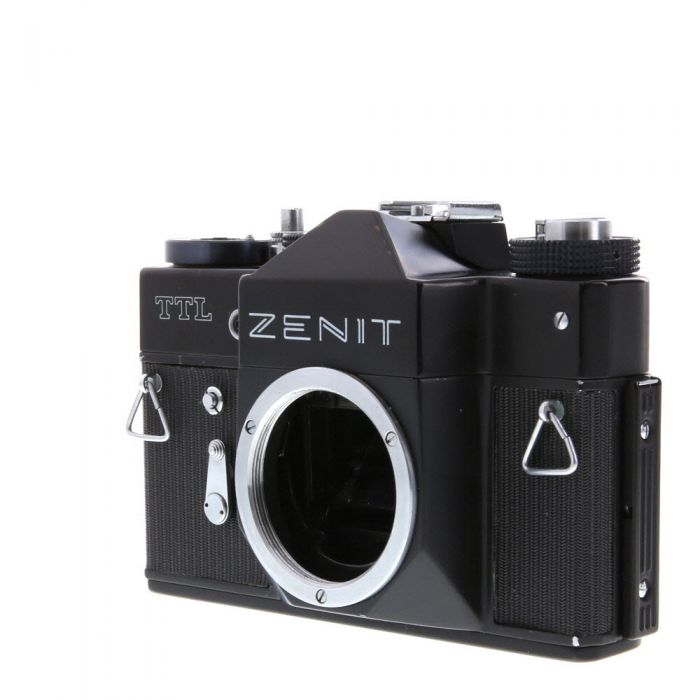 KMZ Zenit TTL (CCCP) M42 Mount 35mm Camera Body, Black