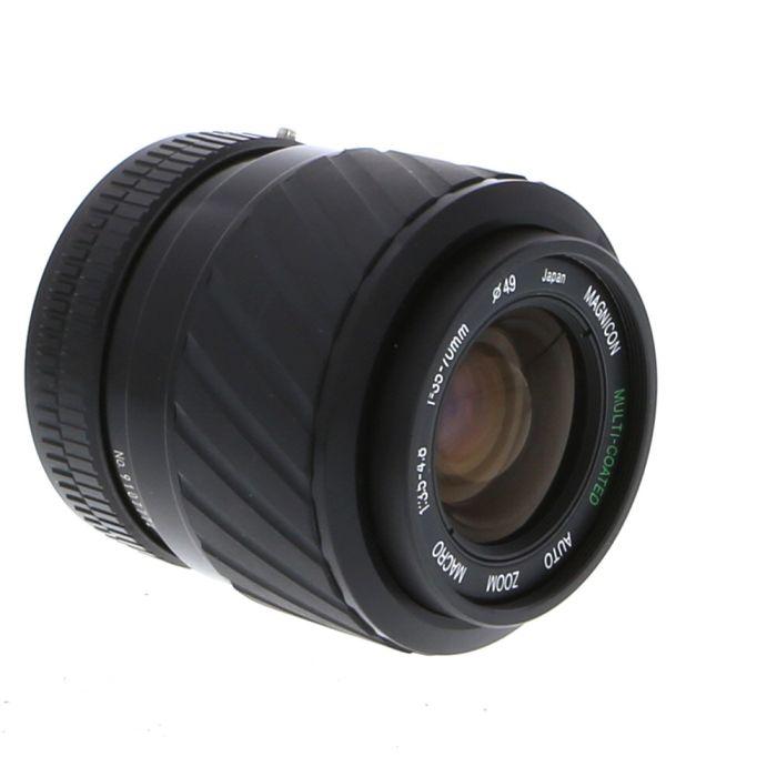 Magnicon 35-70mm F/3.5-4.8 Macro Breech Lock FD Mount Lens {49}