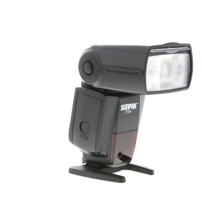 Sunpak PZ58X I-TTL Flash For Nikon [GN190 at 105mm] {Bounce, Swivel,Zoom}